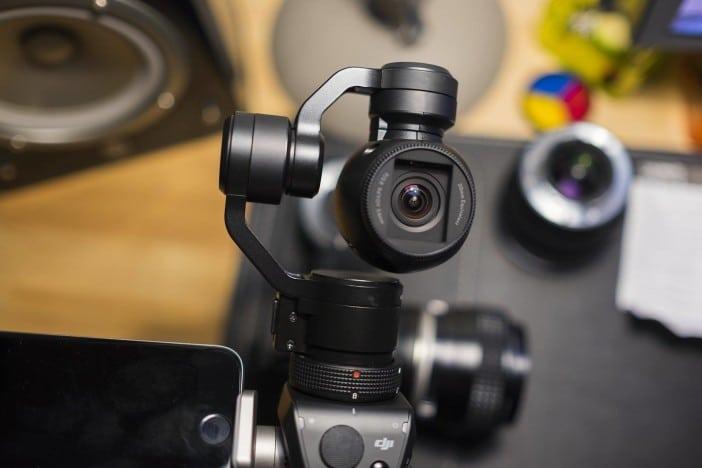 Mon premier test de la caméra Osmo X3